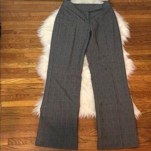 Tahari Arthur S. Levine Houndstooth Checker Pants